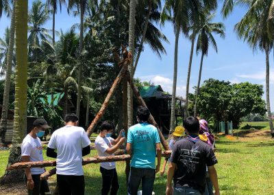 Youth Volunteer Team Building Program